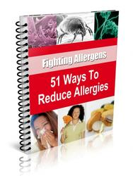 51 Ways to Reduce Allergies