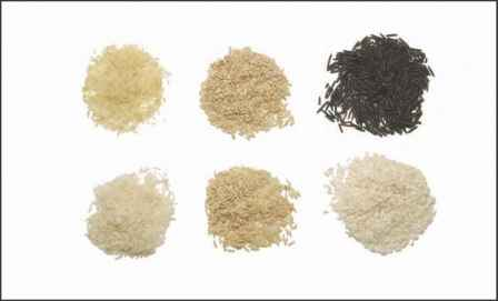 Rice Grain Color Chart
